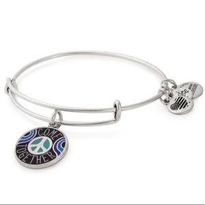 Come Together Charm Bangle Bracelet